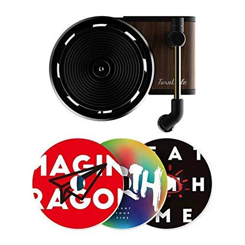 Car Fragrance Diffuser, 1 Pack Retro Unique Shape Record-Player...