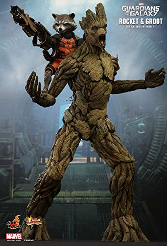 Guardians of the Galaxy Hot Toys 1/6th Scale Action Figure Set...