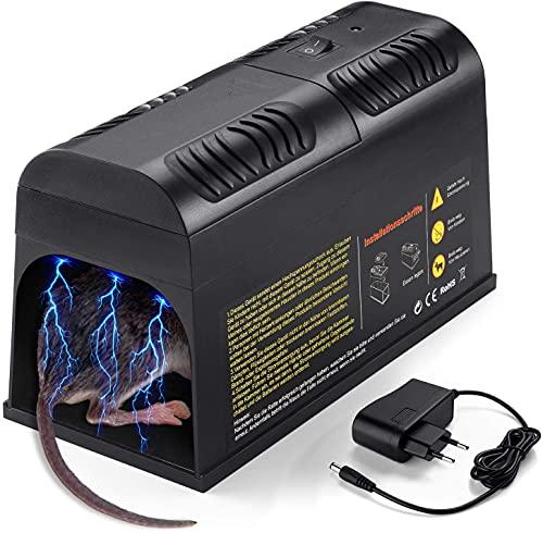 Rattenfalle Elektrisch,Elektronische Rattenfalle,Mäusefalle...