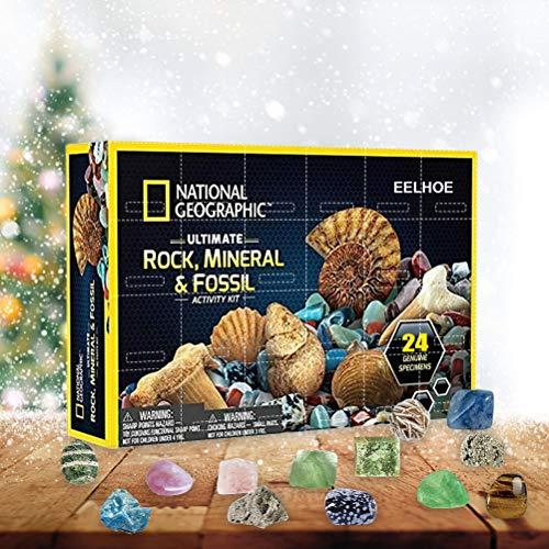 Fangteke Weihnachts Adventskalender Mega Fossil Dig Kit...