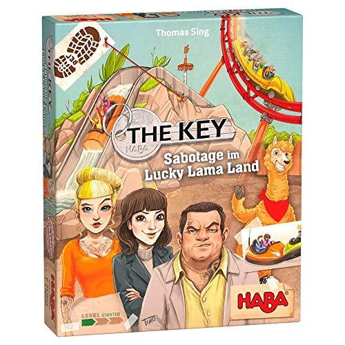 HABA 305940 - Der Schlüssel - Sabotage am Lucky Llama Land - Ein...