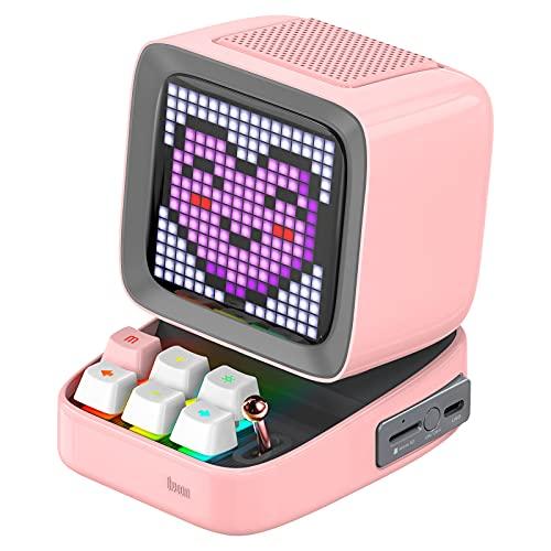 Divoom Ditoo Multifunctional Pixel Art LED Tragbarer Bluetooth...