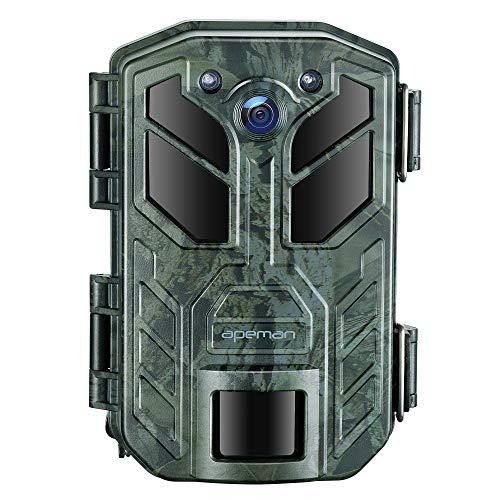 APEMAN 4K 30MP WLAN Bluetooth Wildkamera mit Nachtsicht IP66...
