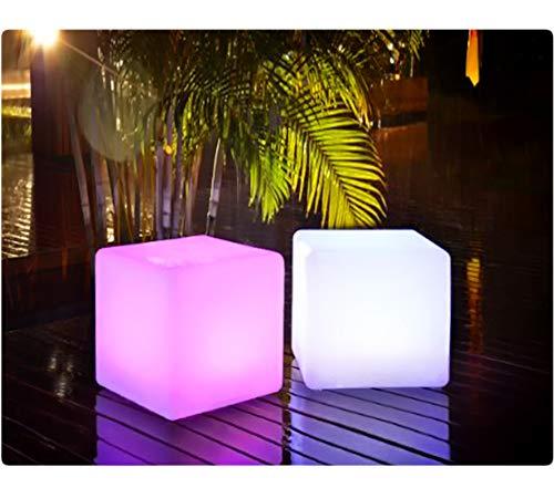 LED Würfel inkl. USB Lichtobjekt Leuchtwürfel Licht Garten...