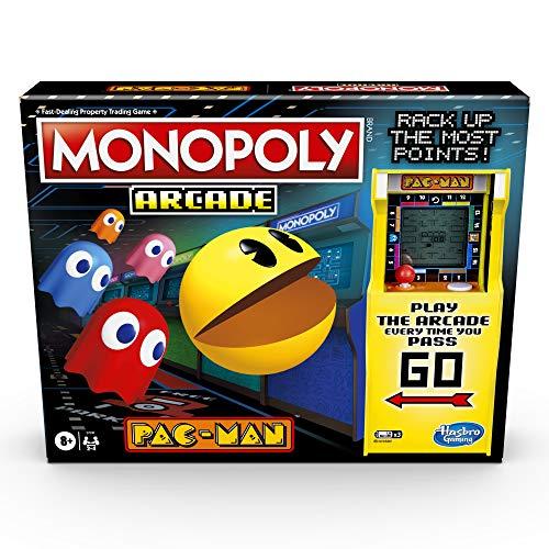 Monopoly Arcade Pac-Man Spiel Monopoly Brettspiel für Kinder ab...