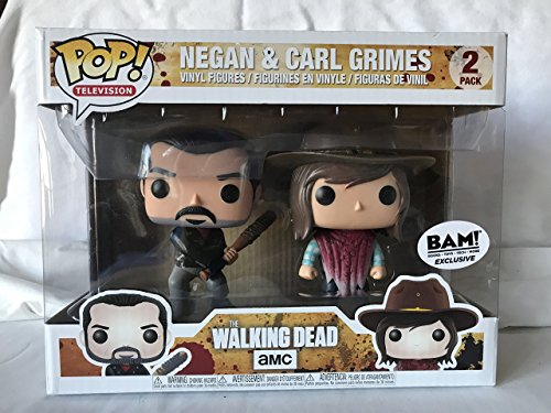 Funko - The Walking Dead-Negan & Carl Grimes Figur, Mehrfarbig,...