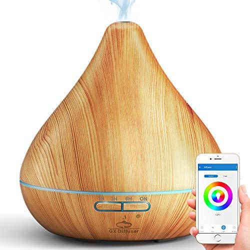 GX·Diffuser WiFi Diffusor für ätherische Öle, kompatibel mit...