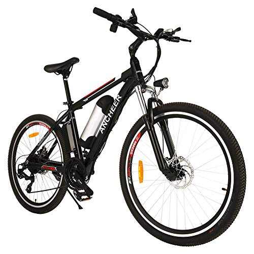 ANCHEER Elektrofahrrad Ebike Mountainbike, 26'/27.5' Elektrisches...