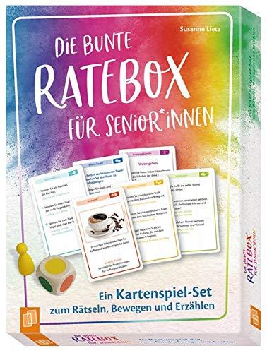 Die bunte Ratebox für Senioren und Seniorinnen Ein...