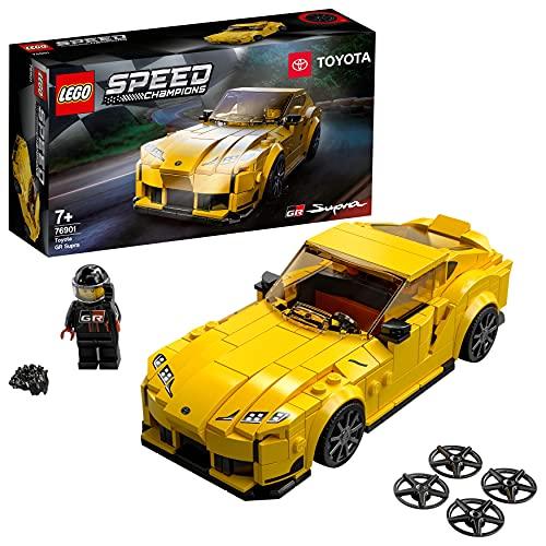 LEGO 76901 Speed Champions Toyota GR Supra Rennwagen,...
