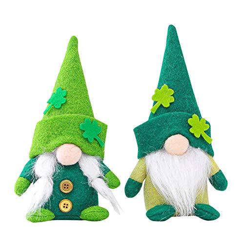 Amlousser 2PC St. Patrick's Day Grüner Hut Puppe Puppen Irish...