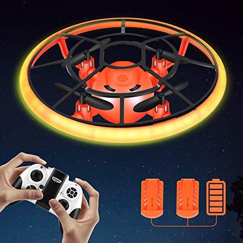 Rolytoy VraiJouet Mini Drohne für Kinder mit LED,...