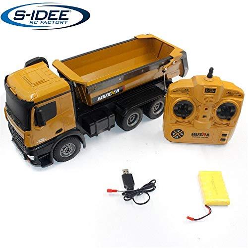 s-idee® S1573 Rc Dump Truck 1:14 LKW 10 Kanal Kipplader Huina...