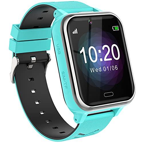Smartwatch Kinder, Smart Watch Telefon Geschenke Geburtstag für...