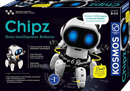Kosmos 621001 - Chipz - Dein intelligenter Roboter, mit 6 Beinen,...