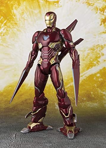 Bandai Tamashii Marvel Avengers Infinity War Iron Man MK-50 Nano...