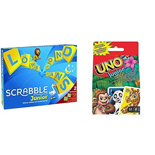 Mattel Games Y9670 - Scrabble Junior Wörterspiel und...