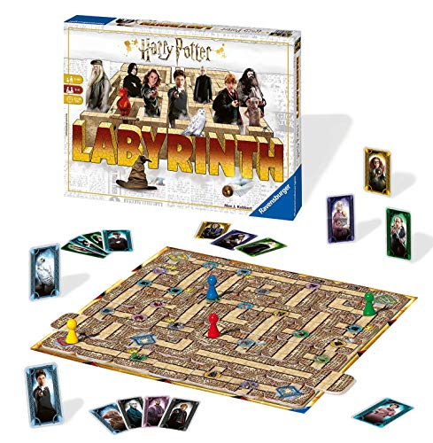 Ravensburger Familienspiele - 26031 Harry Potter Labyrinth -...