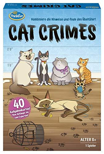 ThinkFun 76366 - Cat Crimes™ - Das flauschige und freche...