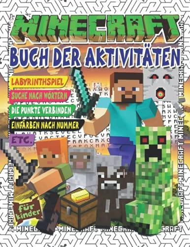 Mínecraft Buch der Aktivitäten: Buch der Aktivitäten für...
