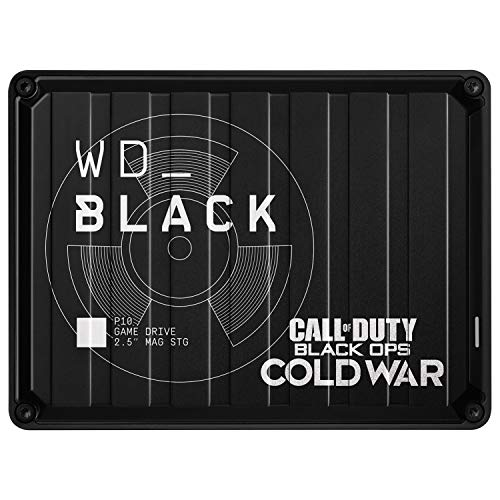 WD_BLACK P10 Game Drive Call of Duty: Black Ops Cold War Special...