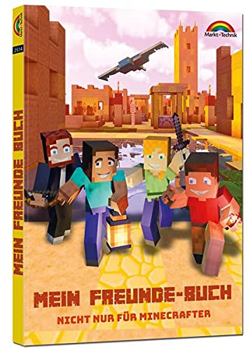 Mein Freunde Buch für Minecrafter