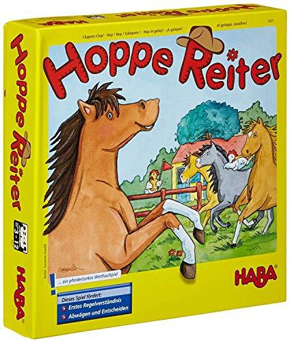 Haba 4321 - Hoppe Reiter Pferdestarkes Wettlaufspiel, für 2-4...