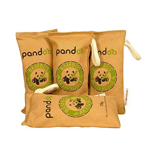 pandoo Lufterfrischer aus Bambus Natürlich mit Aktivkohle  ...