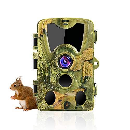 SuntekCam Wildkamera mit Bewegungsmelder Nachtsicht 24MP 1080P...