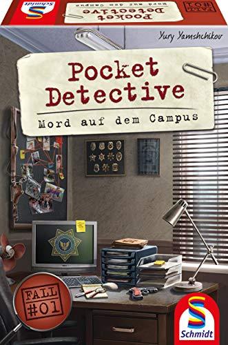 Schmidt Spiele 49377 Pocket Detective, Mord auf dem Campus,...