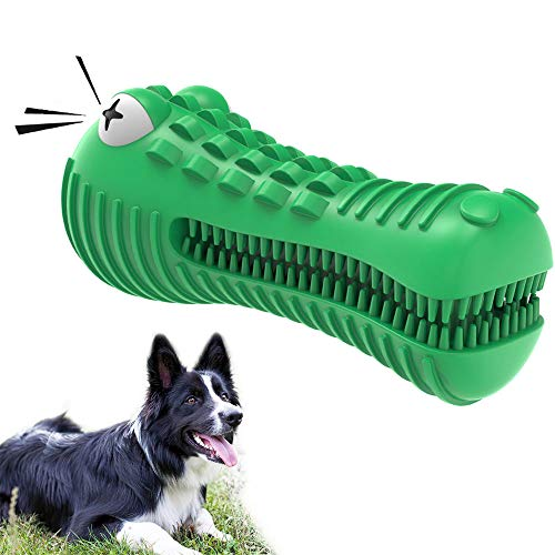 Hundespielzeug Unzerstörbar Hund kauen Spielzeug Tough Squeaky...