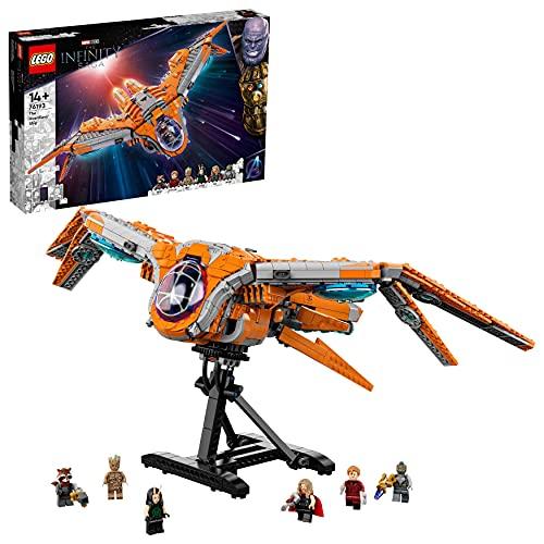 LEGO 76193 Marvel Super Heroes Das Schiff der Wächter Avengers...