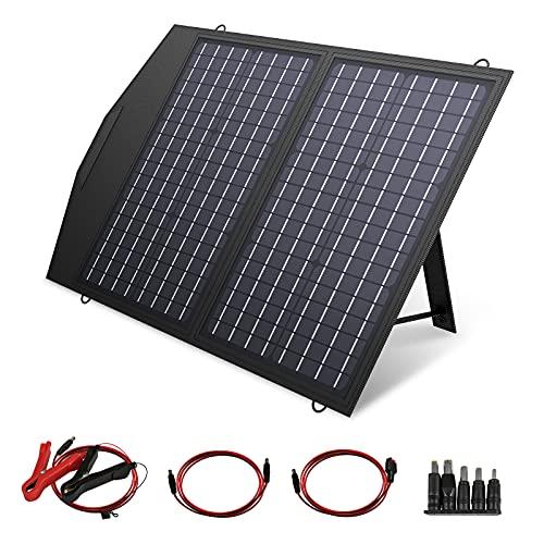 ALLPOWERS Solar Ladegerät, 60W Solarpanel Tragbares...