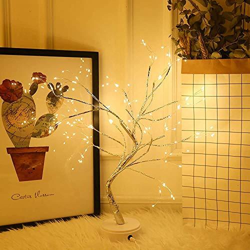108 LED Baum Licht Bonsai Baum Lampe Dekoration Zweig Licht...
