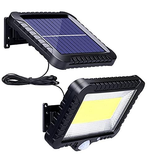 Solarlampen für Außen mit Bewegungsmelder, ZOYJITU 100 LED...