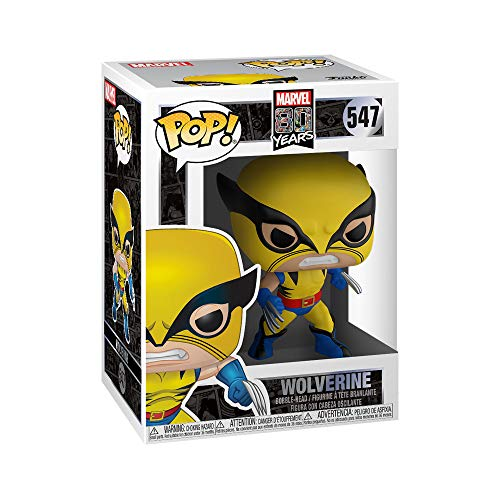 Funko 44155 POP Bobble Marvel: 80th-First Appearance Wolverine...