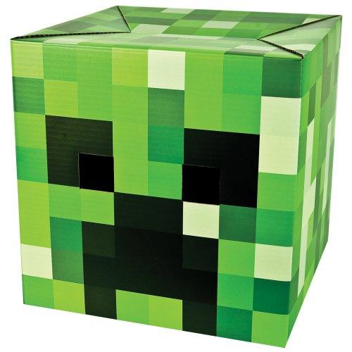 Minecraft Pappkopf Creeper