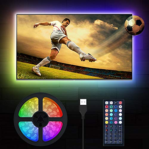 LED TV Hintergrundbeleuchtung, MustWin 3M USB RGBW Beleuchtung...