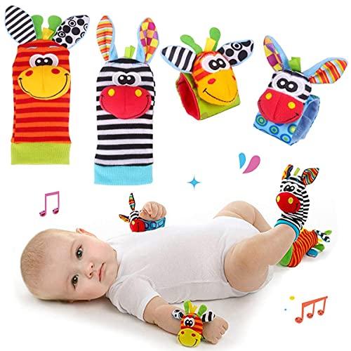 Hmjunboys Baby Rasseln Spielzeug Handgelenk Und Socken,...