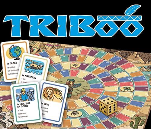 Triboo. Gamebox mit 132 Karten, Spielplan + Download: Le...