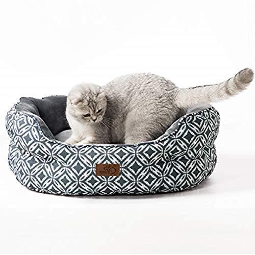 Bedsure Katzenbett Katzen Bettchen Gross - Katzen Bett mit...