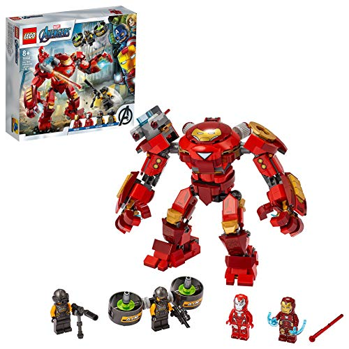 LEGO 76164 Marvel Avengers Iron Man Hulkbuster vs. A.I.M.-Agent,...