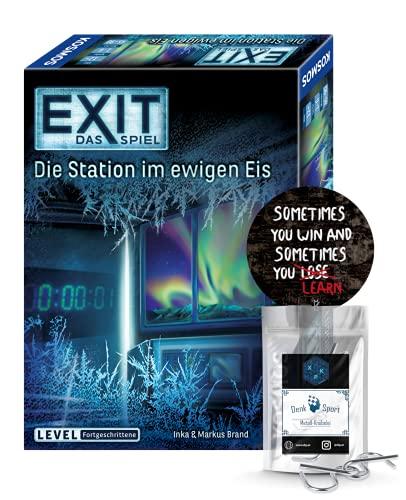 EXIT Das Spiel - Set: Die Station im ewigen EIS + 1x Exit-Sticker...