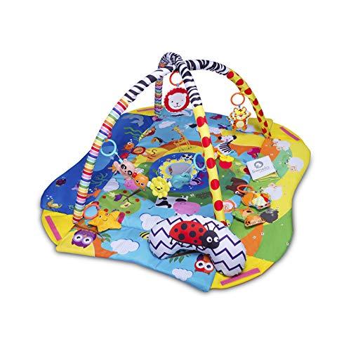 Lionelo Anika Spielmatte Baby Spieldecke Baby Krabbeldecke für...