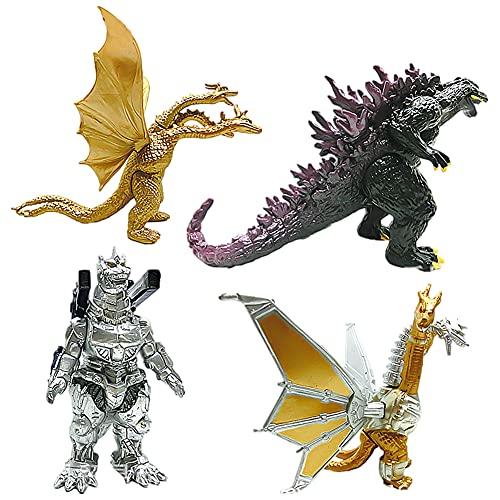 Godzilla Figuren - CBOSNF Godzilla Modell Ornamente,Dinosaurier...