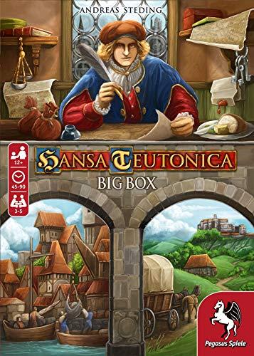 Pegasus Spiele 55148G - Hansa Teutonica Big Box