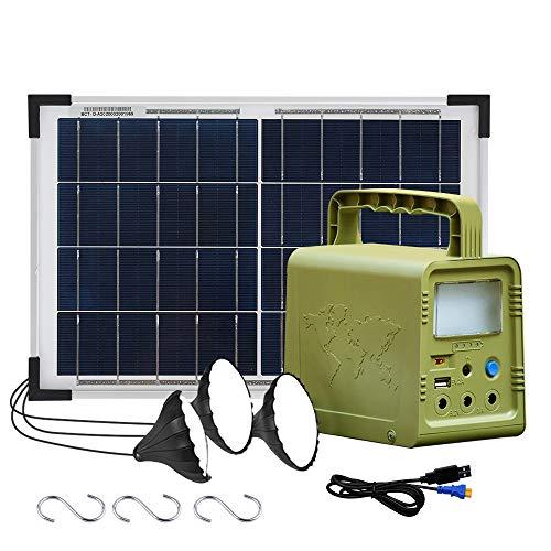 ECO-WORTHY 84Wh tragbares Kraftwerk Solargenerator...