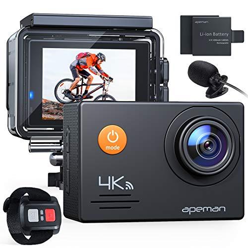 APEMAN Action Cam A79,4K WiFi 20MP Unterwasserkamera Digitale...