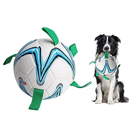 YANWA Hundespielzeug - interaktive Hundefußballspielwaren mit...