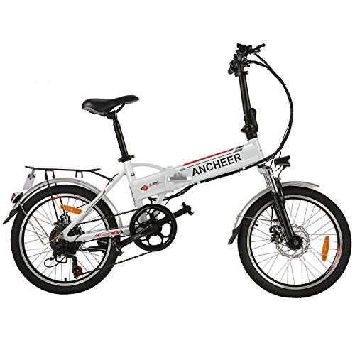 ANCHEER 20/26 Zoll E-Bike Pedelec, 250W Motor Faltbares...
